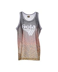 Gola - Orange Tank Top for Men - Lyst