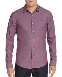 Original Penguin | Pink Slim-fit Oxford Shirt for Men | Lyst