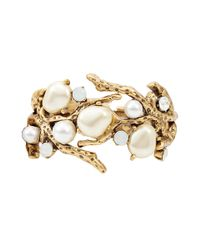 Oscar de la Renta | White Coral Bracelet | Lyst