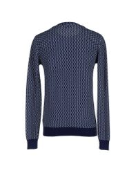 Le Mont St Michel - Blue Jumper for Men - Lyst
