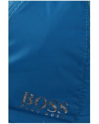 BOSS Green Blue 'crit' | Nylon Cap With Mesh Vents for men