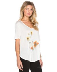 Obey - Natural Return To Nature Lorelei Tee - Lyst