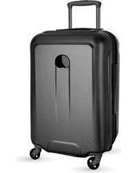 Delsey | Black Helium Air Four-wheel Cabin Trolley Case 55cm for Men | Lyst