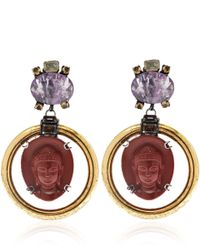 Iradj Moini - Red Jasper Buddha Earrings - Lyst