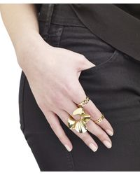 Arme De L'Amour | Pink Ruffle Ring | Lyst