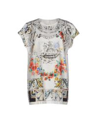 Dolce & Gabbana | White Blouse | Lyst