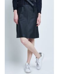 Carolina Ritzler | 60's Shirt Black Leather Dress | Lyst