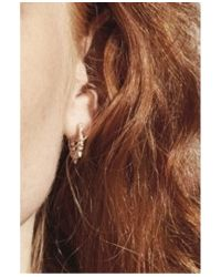 Pamela Love - Metallic Spike Hoop Earring In Yellow Gold - Lyst