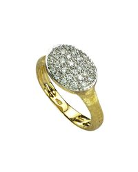 Marco Bicego | Metallic Siviglia Diamond Ring | Lyst