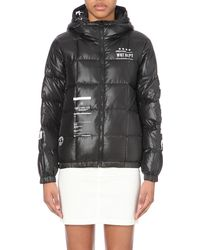 Chocoolate | Black Reversible Quilted Nyc Shell Jacket | Lyst