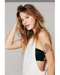Free People | Gray Metal Upper Armband | Lyst