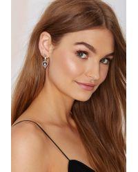 Nasty Gal - Metallic Jenny Bird Nova Orb Sterling Silver Drop Earrings - Lyst