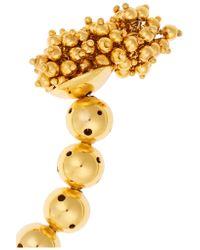 Paula Mendoza - Metallic One Round Ball Gold-plated Choker - Lyst