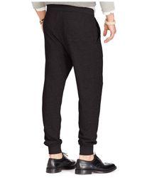Polo Ralph Lauren | Black Terry Drawstring Pant for Men | Lyst