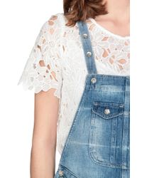 Pepe Jeans   Blue Dungarees   Lyst