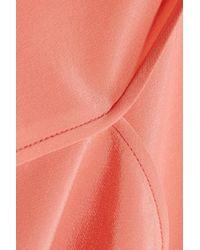 Alexander Wang - Pink Silk Crepe De Chine Top - Lyst