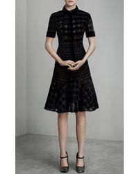 Mary Katrantzou - Black Owena Short Sleeve Blouse - Lyst