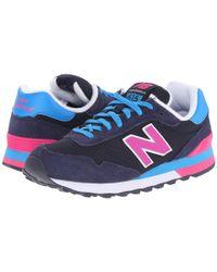 New Balance Black 515 - Neon Pop