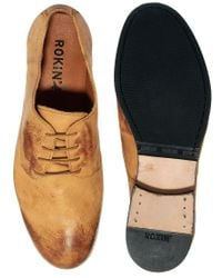 Rokin | Brown Ryder Derby Shoes for Men | Lyst