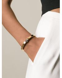 Chloé | Metallic 'darcey' Bangle | Lyst