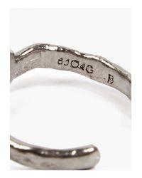Bjorg | Metallic Men'S Single Vertebrae Ring for Men | Lyst
