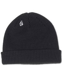 Volcom | Black Full Stone Beanie for Men | Lyst