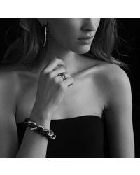 David Yurman - Blue Midnight Mélange Ring with Diamonds - Lyst
