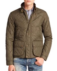 Polo Ralph Lauren | Green Cadwell Quilted Bomber Jacket for Men | Lyst