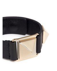 Valentino - Metallic 'rockstud' Bracelet - Lyst