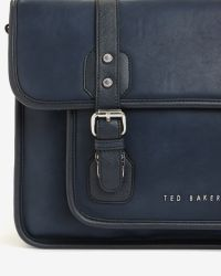 Ted Baker | Blue Satchel Bag for Men | Lyst