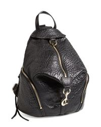 Rebecca Minkoff | Black 'julian' Fringe Backpack | Lyst