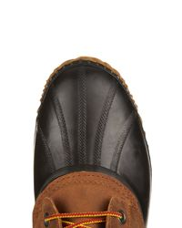 Sorel | Brown Cheyanne™ Leather And Rubber Boots for Men | Lyst