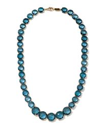 Ippolita | Gelato London Blue Topaz Collar Necklace | Lyst