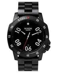 Nixon | Black 'the Ranger' Bracelet Watch for Men | Lyst