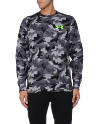 Under Armour - Gray Sweatshirt for Men - Lyst