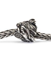 Trollbeads - Metallic Babylonian Nymph Sterling Silver Charm Bead - Lyst