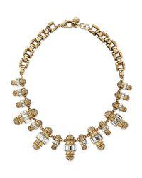 Lulu Frost | Metallic Phantom Crystal Statement Necklace | Lyst