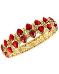 2028 | Metallic Gold-Tone Siam Stretch Bracelet | Lyst