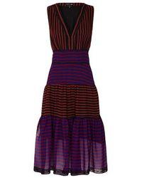 TOPSHOP - Multicolor Iris Midi Dress By Sister Jane - Lyst
