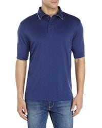 English Laundry | Blue Cotton Polo for Men | Lyst