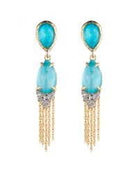 Alexis Bittar | Blue Tassel Tear Drop Clip Earring You Might Also Like | Lyst