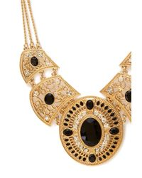 Forever 21 - Metallic Western Redux Faux Stone Necklace - Lyst