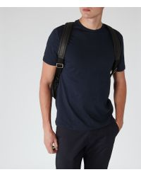 Reiss | Blue Bless Crew Neck T-shirt for Men | Lyst