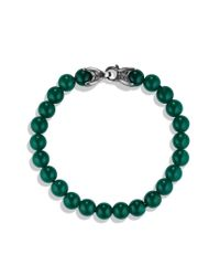 David Yurman | Spiritual Beads Bracelet with Green Onyx for Men | Lyst