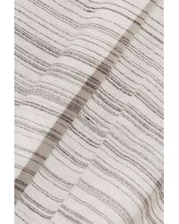 Enza Costa | White Striped Jersey Tank | Lyst