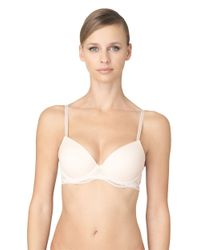 Calvin Klein | Pink Infinite Lace Customized Lift Bra | Lyst