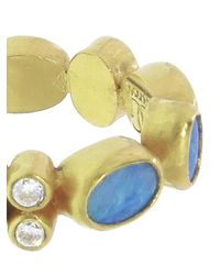 Gurhan - Metallic Opal Band Ring - Lyst