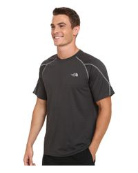 The North Face - Black Voltage Short Sleeve Crew Shirt for Men - Lyst