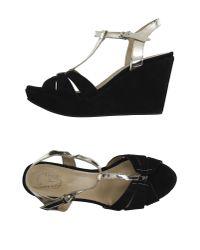 Triver Flight - Black Sandals - Lyst