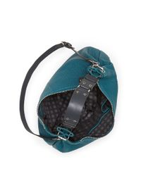 Vince Camuto | Blue Franki Leather Hobo Crossbody | Lyst